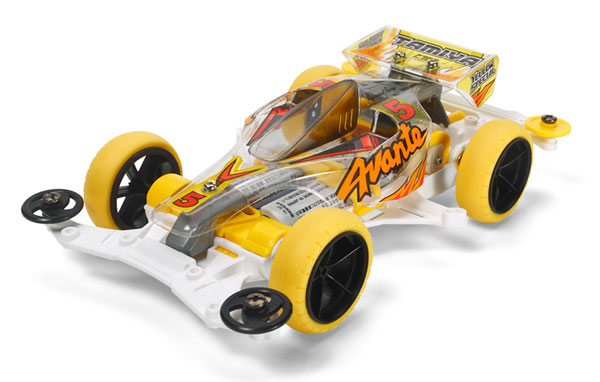 Mini-4WD-Limited-1-32-Racer-Mini-4WD-Avante-Jr-Yellow-Special